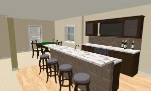 bar image 3D basement plan designer