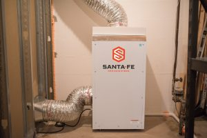 santa-fe dehumidifier finished basement
